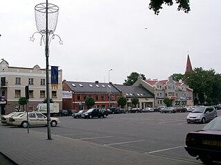 Kretinga Town in Samogitia, Lithuania