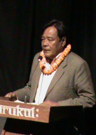 Krishna Bhooshan Bal - Bal reading his poem in Biratnagar in 2010