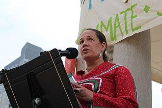 Nipmuc Nation - Kristen Wyman, member of the Natick Nipmuc tribe of Massachusetts