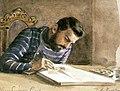 Kronprinsen Carl. Akvarell av Fritz von Dardel 1849. Nordiska museets föremål inv.nr 67453 - Nordiska museet - NMA.0024420.jpg
