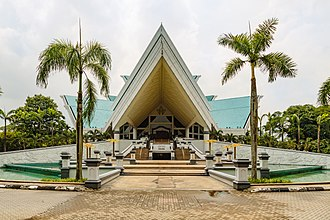 Istana Budaya - Main entrance