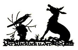 GroГџe schwarze Eselsammlung