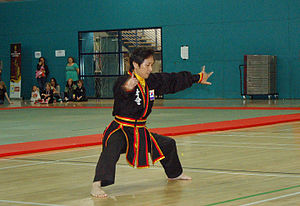 Kuk Sool Won - Master Sung Jin Suh demonstrating an advanced hyung