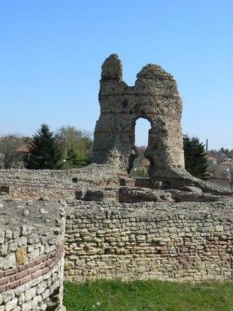 Kula, Bulgaria - Ruins of the Late Roman fortress of Castra Martis at Kula