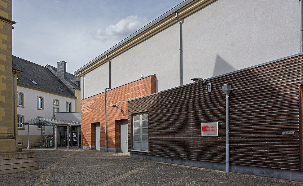 Cultural center of Mersch