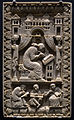 Kunsthistorisches Museum 10th century ivory Gregory the Great 23062013.jpg