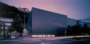 Kunstmuseum Liechtenstein - Image: Kunstmuseum Liechtenstein, Vaduz