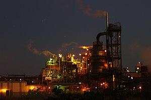 Kwinana Beach, Western Australia - A chemical plant in Kwinana Beach