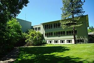 Student center at Lewis & Clark College in Por...