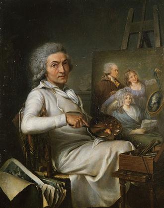 Pierre Lacour - Self-portrait (1798)