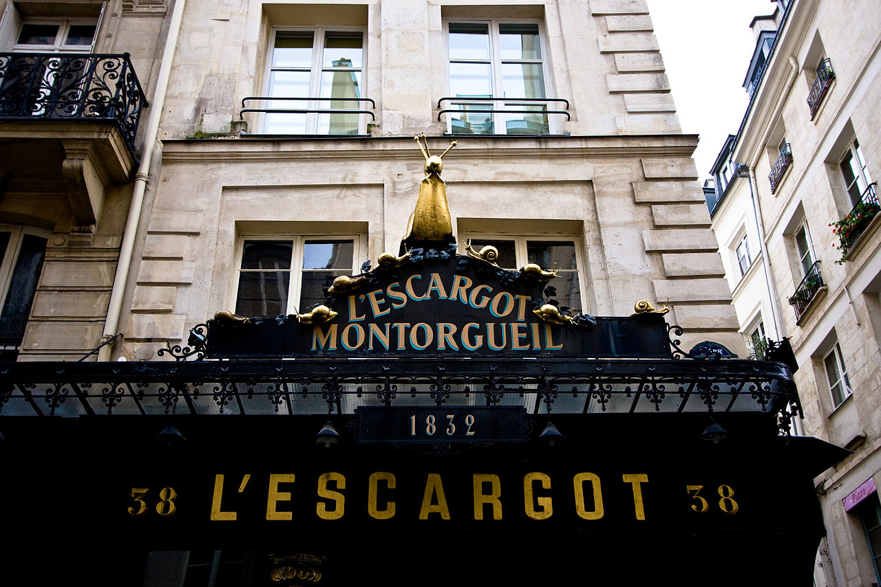 Restaurant L Escargot D Or A St Etienne