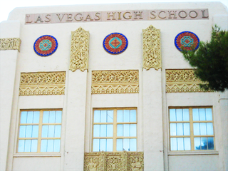 Las Vegas Academy high school in Las Vegas, Nevada