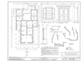 La Casa de Eduardo de la Cuesta, Highway 101, Buellton, Santa Barbara County, CA HABS CAL,42-BUEL.V,1- (sheet 1 of 3).png