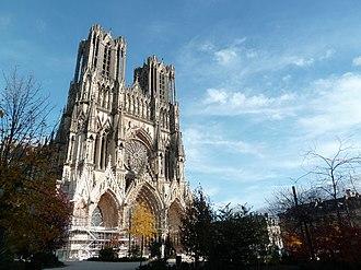 Marne - Image: La Cathédrale de Reims