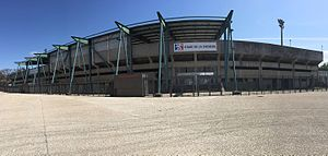 Duchère Stadium - Exterior View of the Stadium.