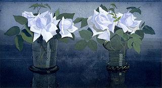 La France-rozen in twee glazen