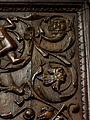 La Guerche-de-Bretagne (35) Basilique Stalle 03 Dorsal 04.JPG