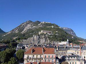 Après la vie - Bastille hill from the town