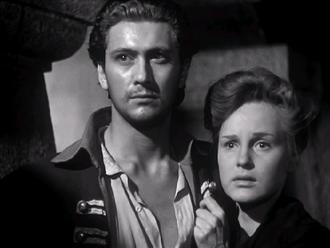 Cesare Danova - Cesare Danova and Irasema Dilian in The Captain's Daughter (film) (1947)