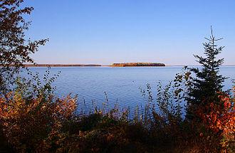 Methye Portage - Lac La Loche with a view towards the Portage