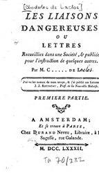 Laclos - Les liaisons dangereuses, 1782, T01.djvu