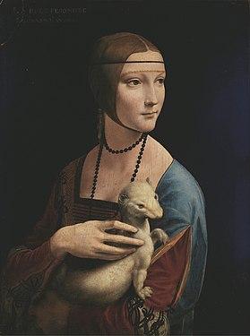 Lady with an Ermine - Leonardo da Vinci - Google Art Project.jpg