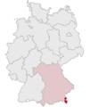 Lage des Landkreises Berchtesgadener Land in Deutschland.png