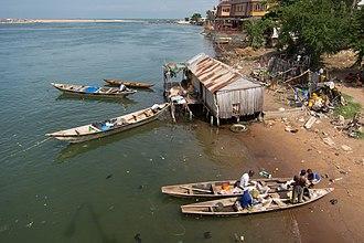 Littoral Department - Lagoon in Cotonou