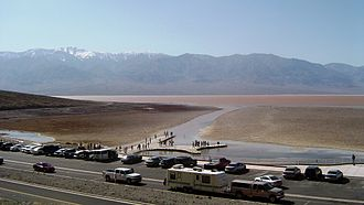 Death Valley National Park - Lake Badwater, spring, 2005