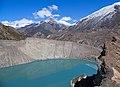 Lake Gangapurna (3500 m) - Manang, Nepal - panoramio.jpg