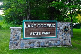 Lake Gogebic State Park sign.JPG