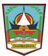 Official seal of Dharmasraya Regency