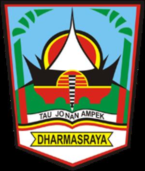 Dharmasraya Regency - Image: Lambang Kabupaten Dharmasraya