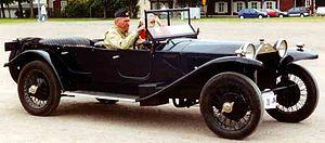 Lancia Lambda - Image: Lancia Lambda 1925