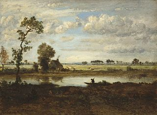 Landscape with Boatman
