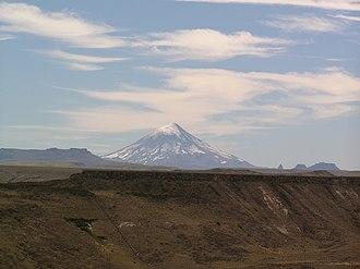 Lanín - Lanin Volcano in Argentina