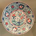 Large Export Dish, c. 1660-1670, Arita, hard-paste porcelain with overglaze enamels - Gardiner Museum, Toronto - DSC00434.JPG