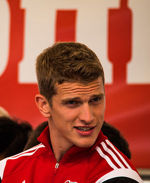 Lars Bender - Bender with Bayer Leverkusen in 2015