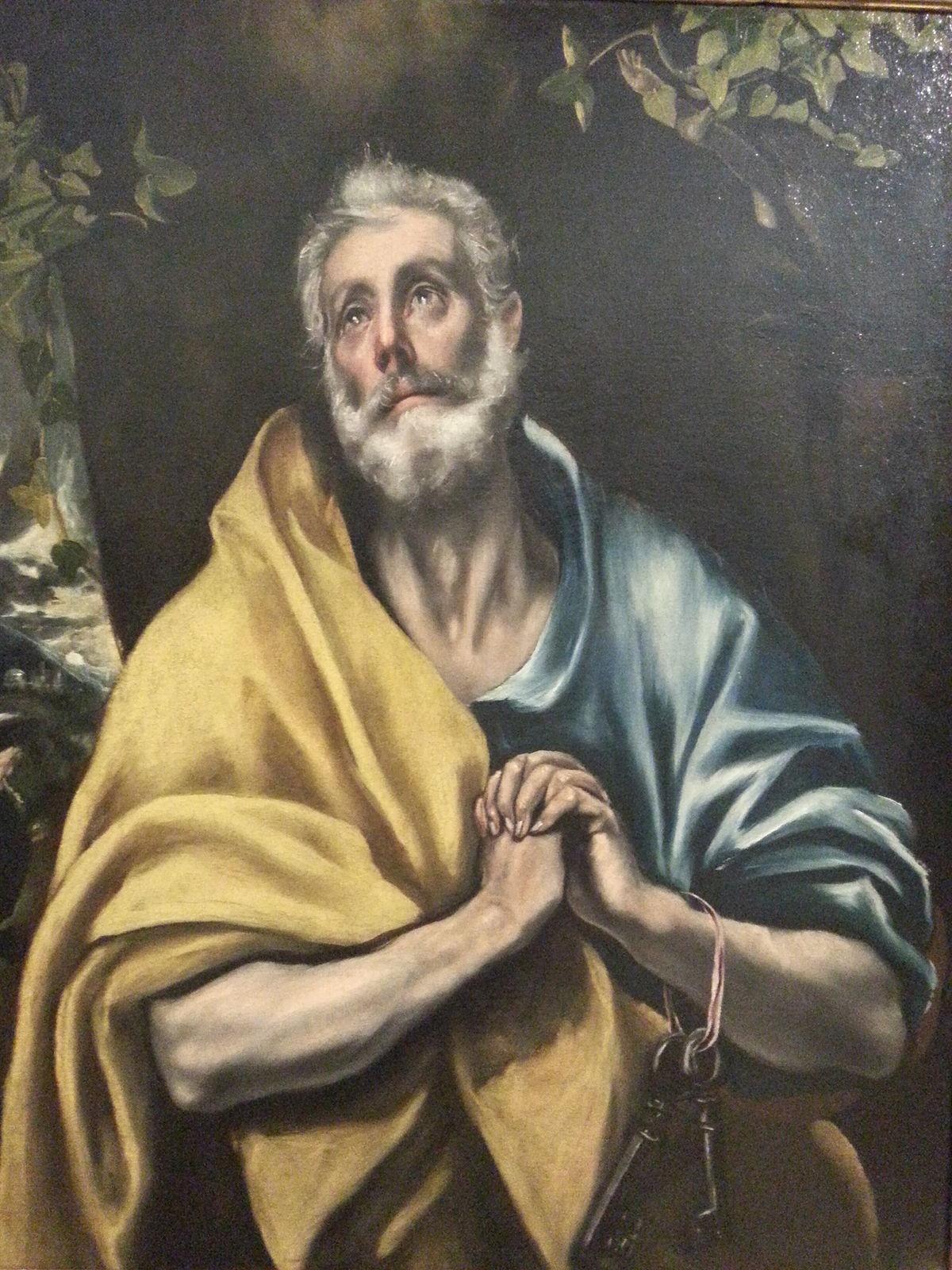 Las lágrimas de San Pedro (El Greco, Soumaya) - Wikipedia, la enciclopedia libre