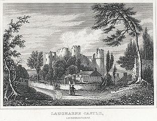Laugharne Castle, Caermarthenshire
