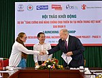 Launch of Building Resilience to Natural Hazards in Central Vietnam project (Phase II) (37108407290).jpg