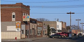 Laurel, Nebraska 2nd St E from Elm St.JPG