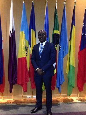 Laurent Dunel au sommet international de l'OACI