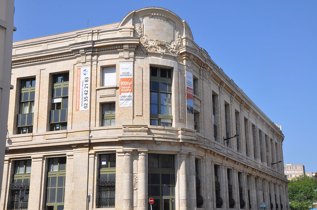 Fichier le havre france former post office jpg for Facade libre definition