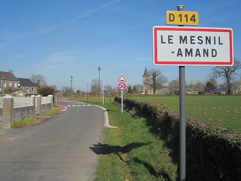 Le Mesnil-Amand, Manche