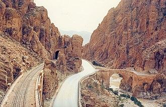 El Kantara - Image: Le Pont romain