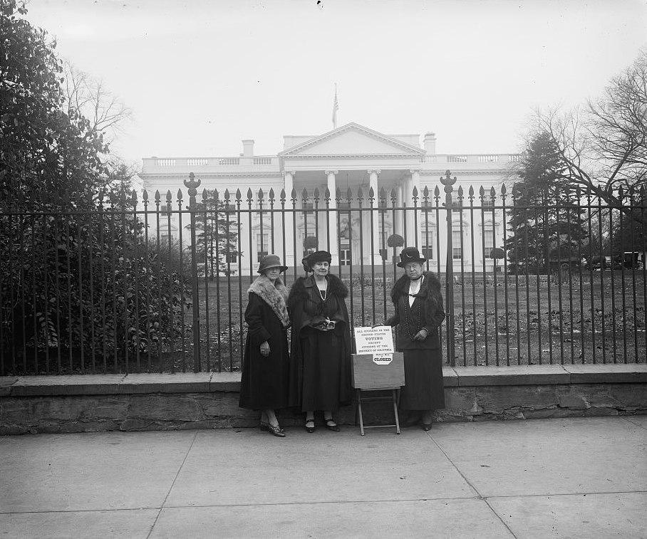 League Women Voters, White House