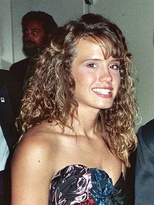 Leanna Creel - Creel at the 41st Annual Emmy Awards, 1989