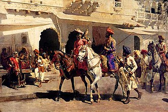 Edwin Lord Weeks - Image: Leaving For The Hunt At Gwalior ca 1887