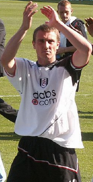 Lee Clark (footballer) - Clark playing for Fulham in 2005